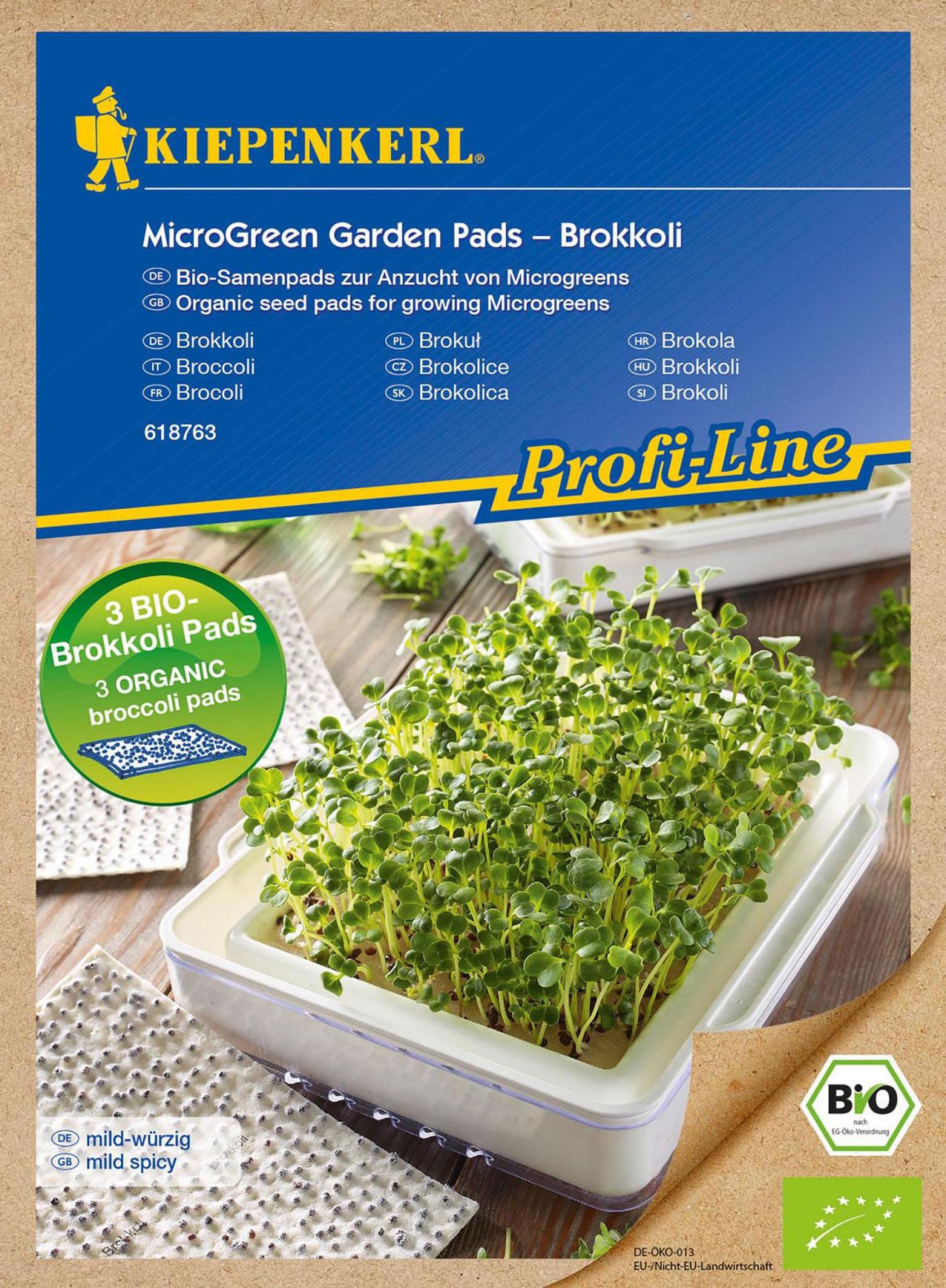 MicroGreen Garden BIO-Brokkoli Nachfüllpads PG-N