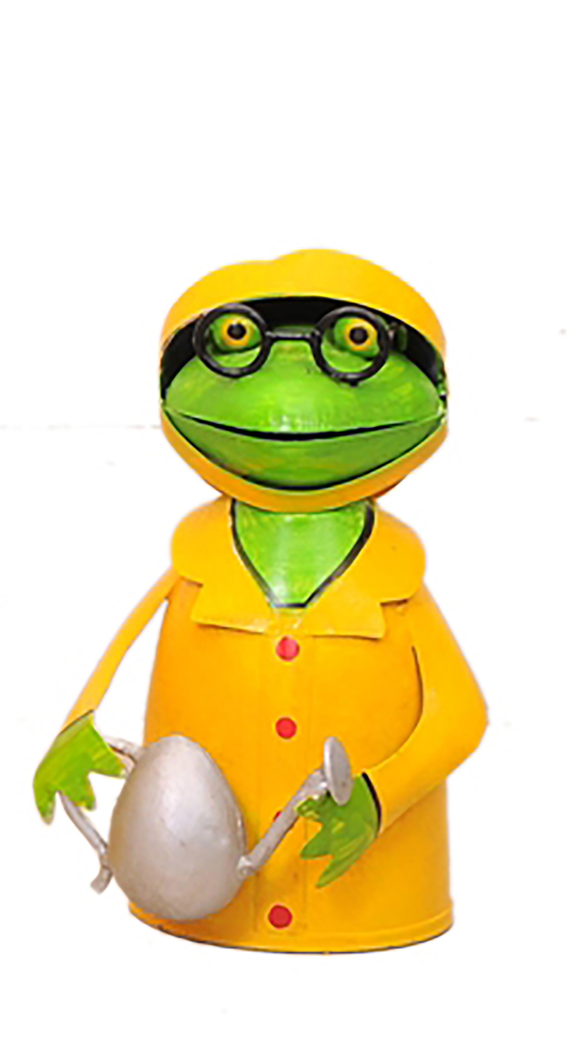 """Zaunhocker Frosch """"Fischers Fritz"""" mit Gießkanne"""