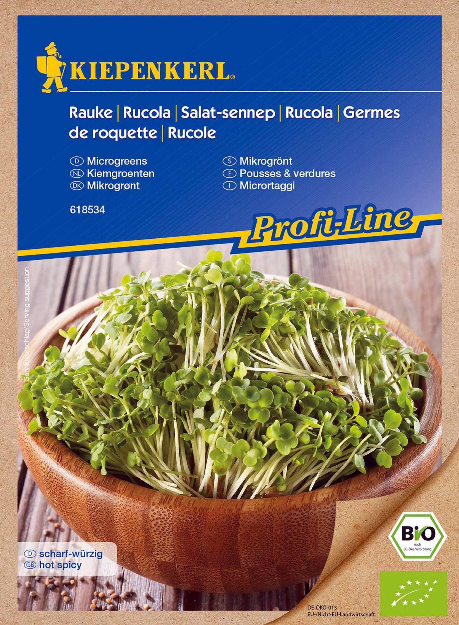 BIO-Keimsprossen Rauke/Rucola PG-N