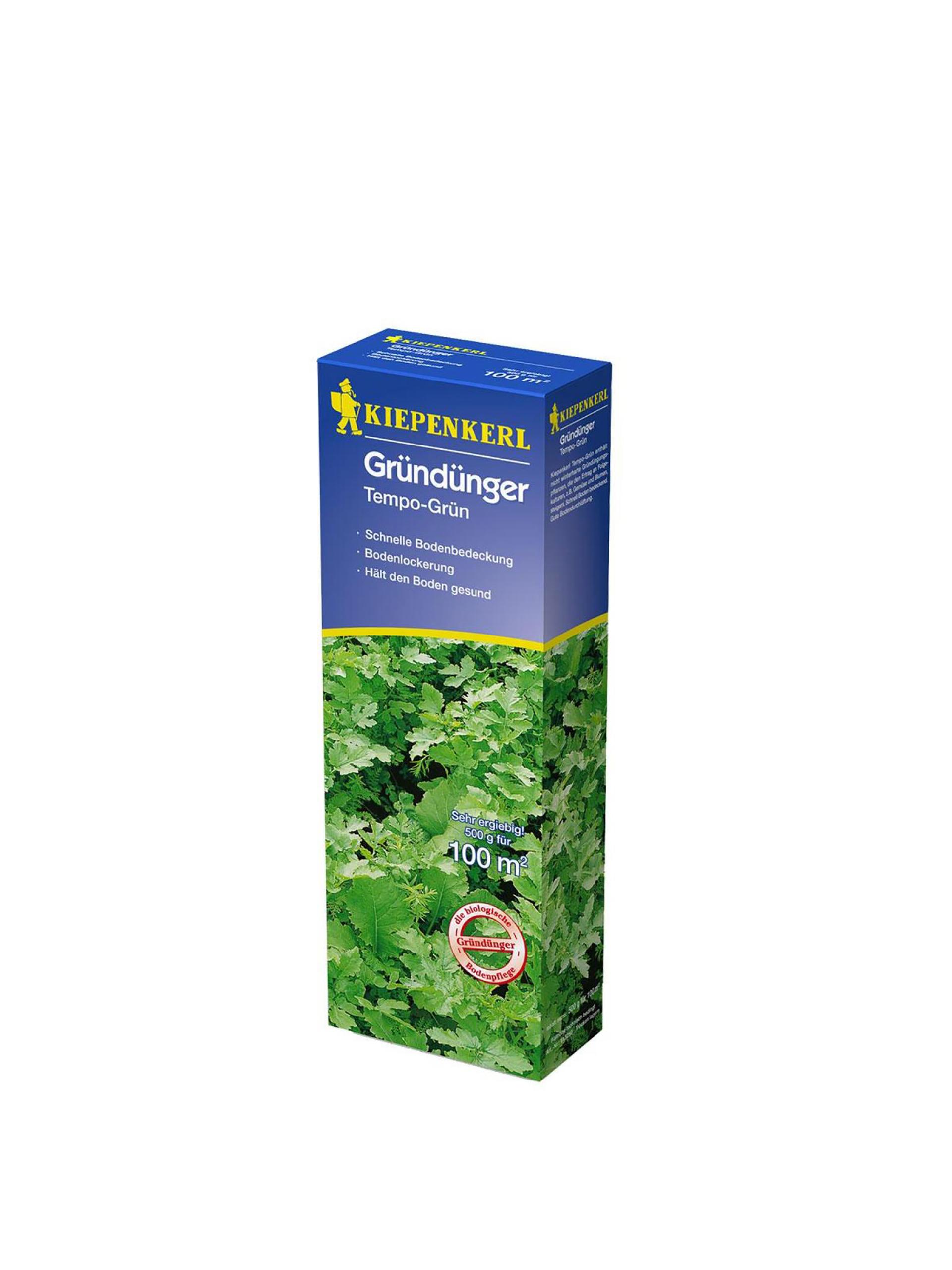 Gründünger Tempo-Grün, 0,5kg