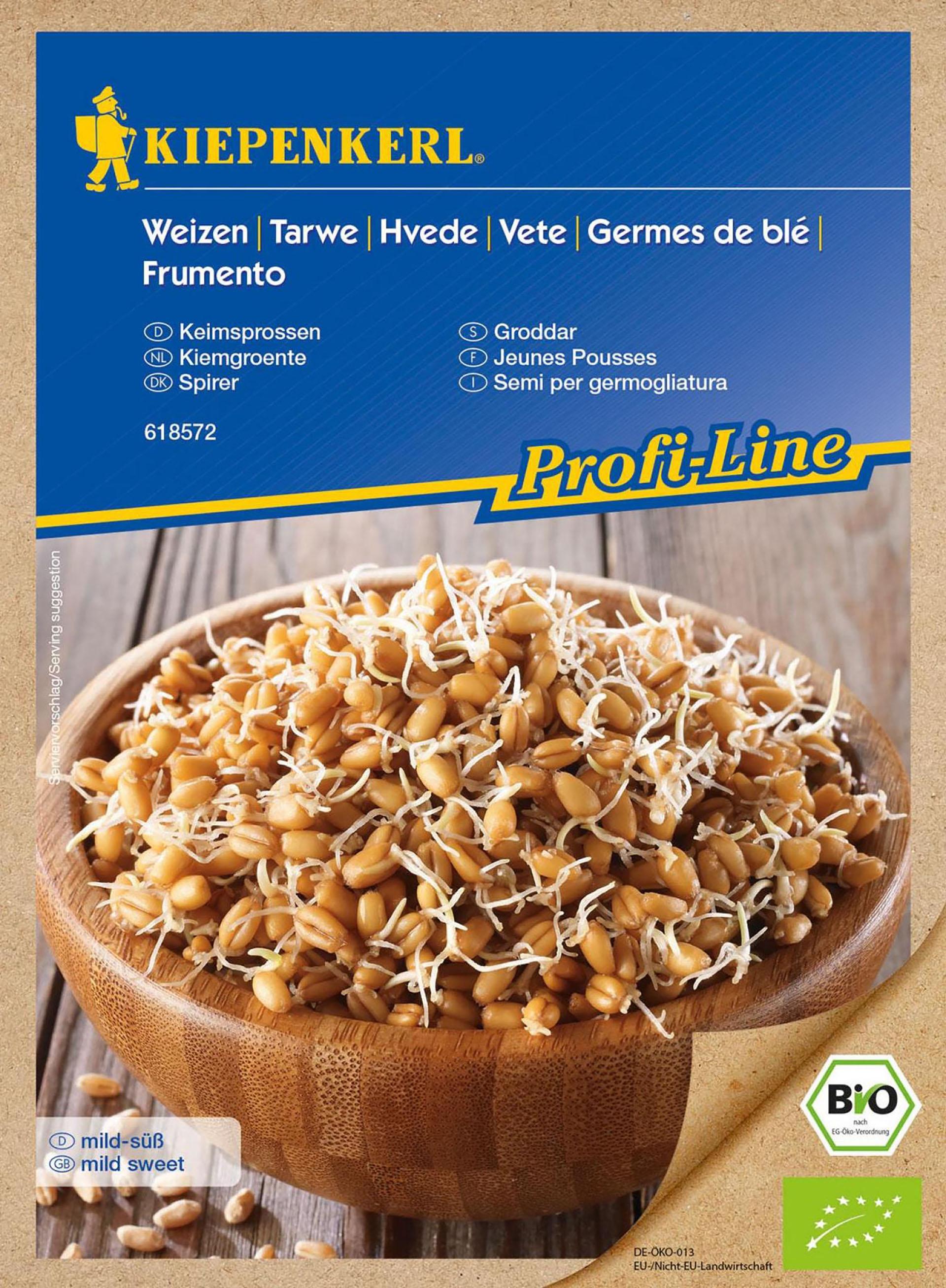 BIO-Keimsprossen Weizen PG-K