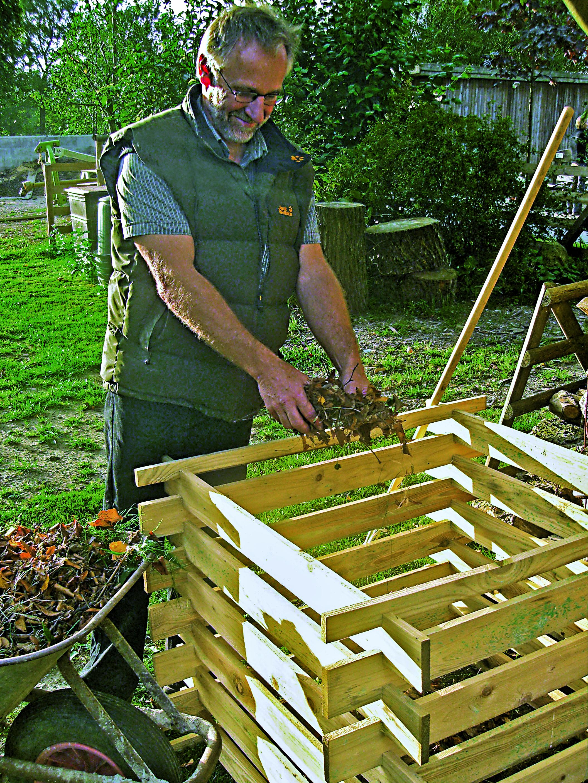 Holzkomposter