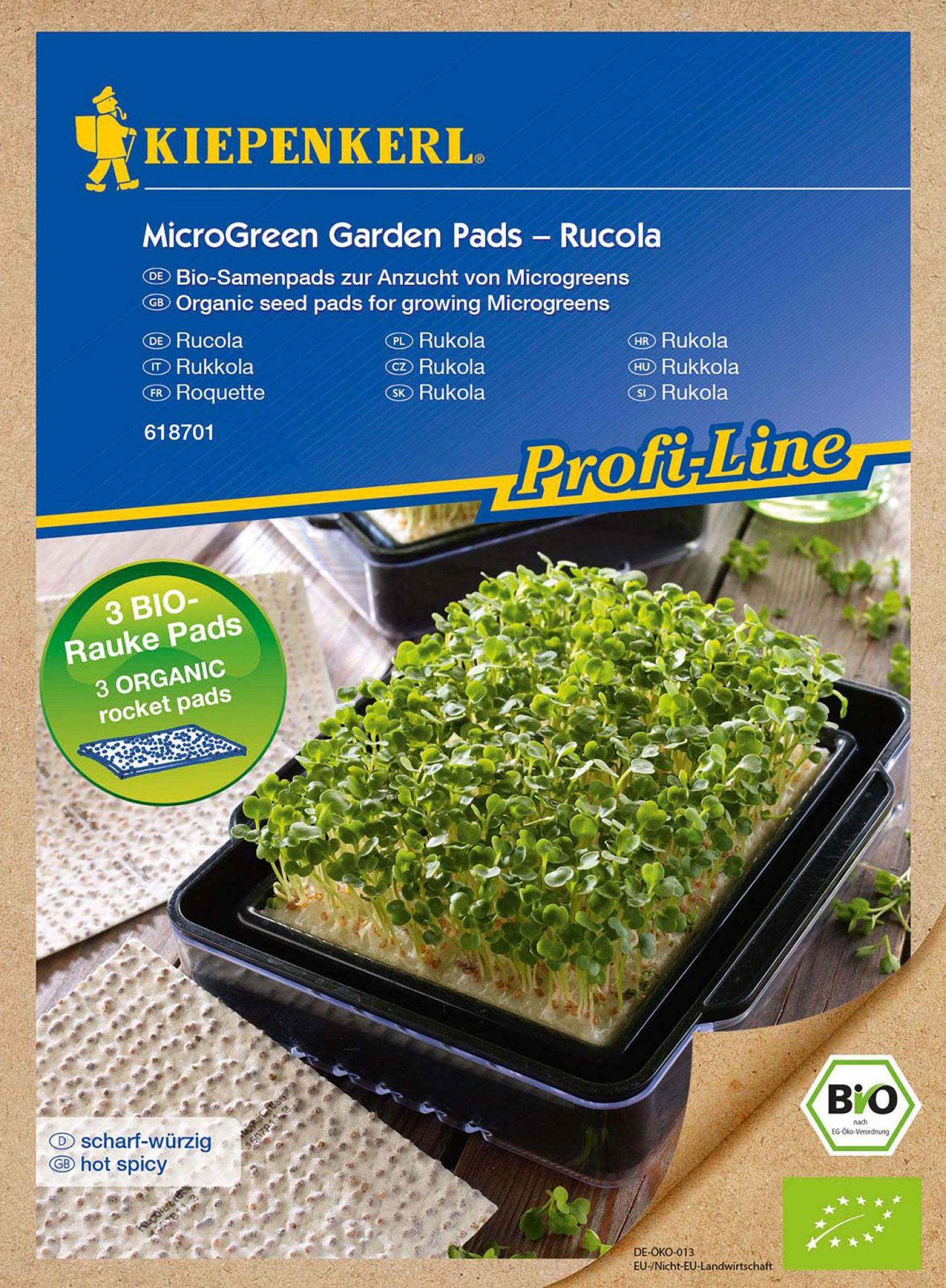 MicorGreen Garden BIO-Rucola Nachfüllpads PG-N