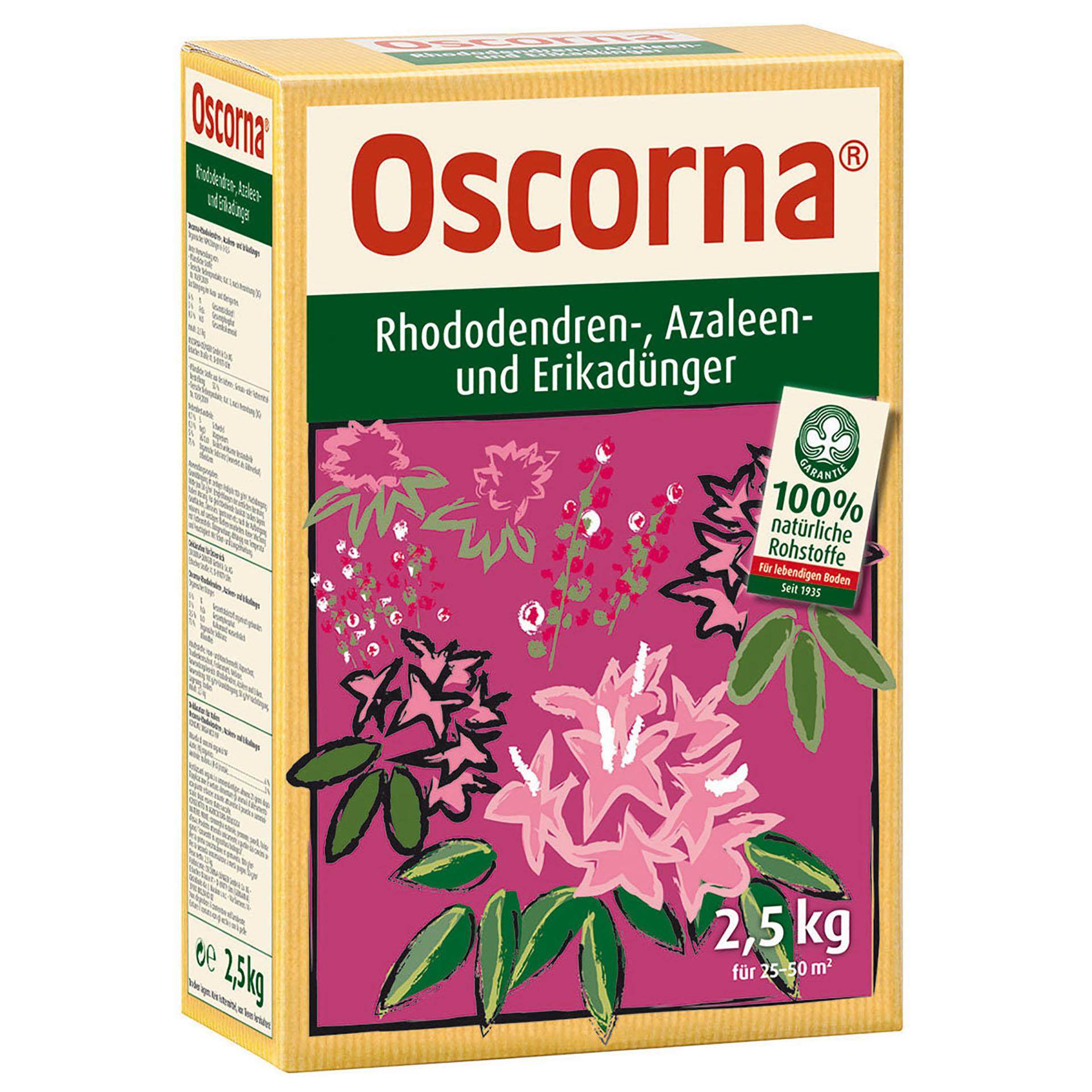 Oscorna Rhododendren-, Azaleen- und Erikadünger 2,5kg