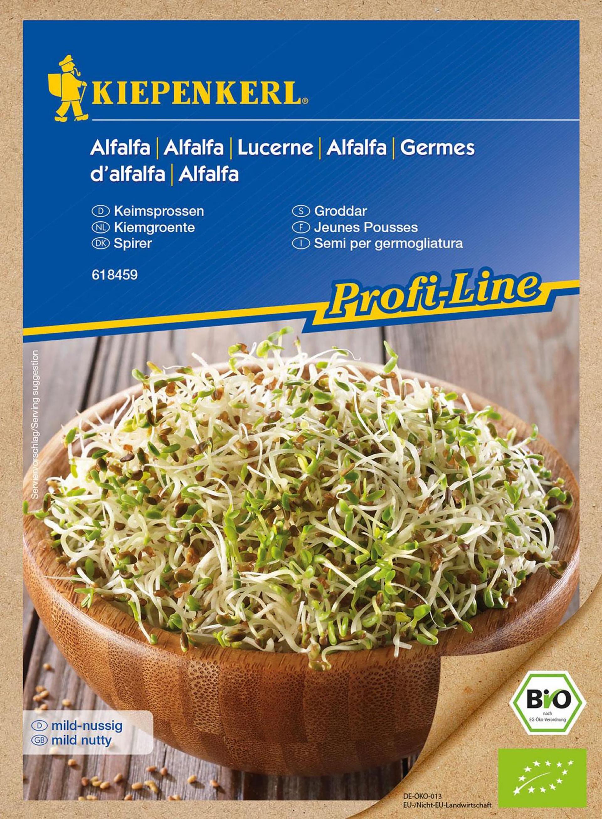 BIO-Keimsprossen Alfalfa PG-K