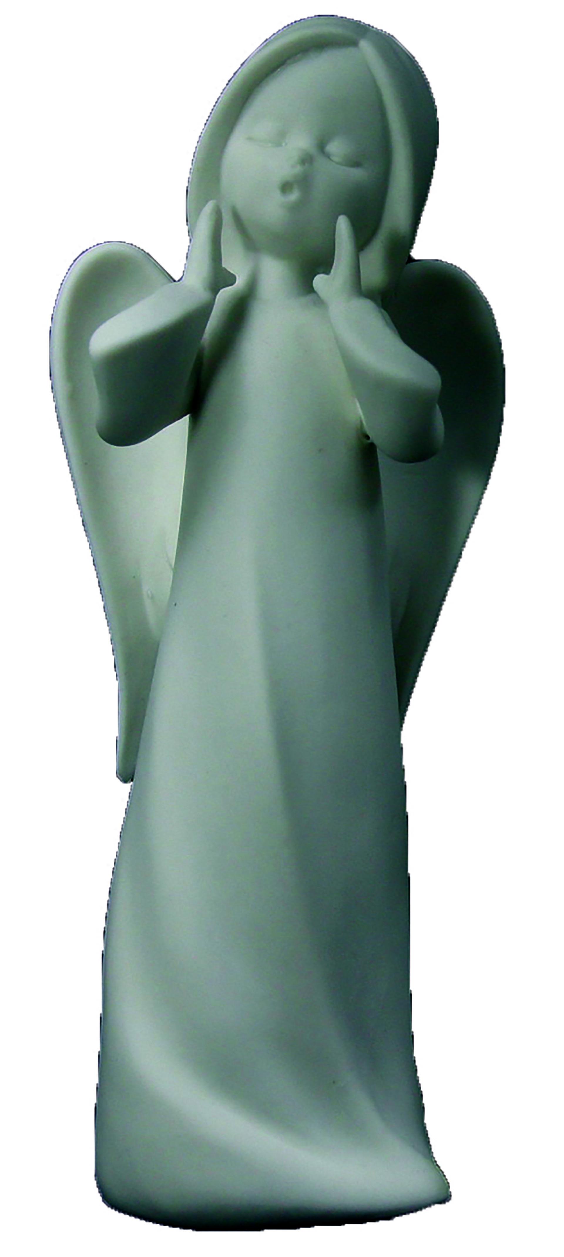 Engel M singend, Höhe 16,5cm