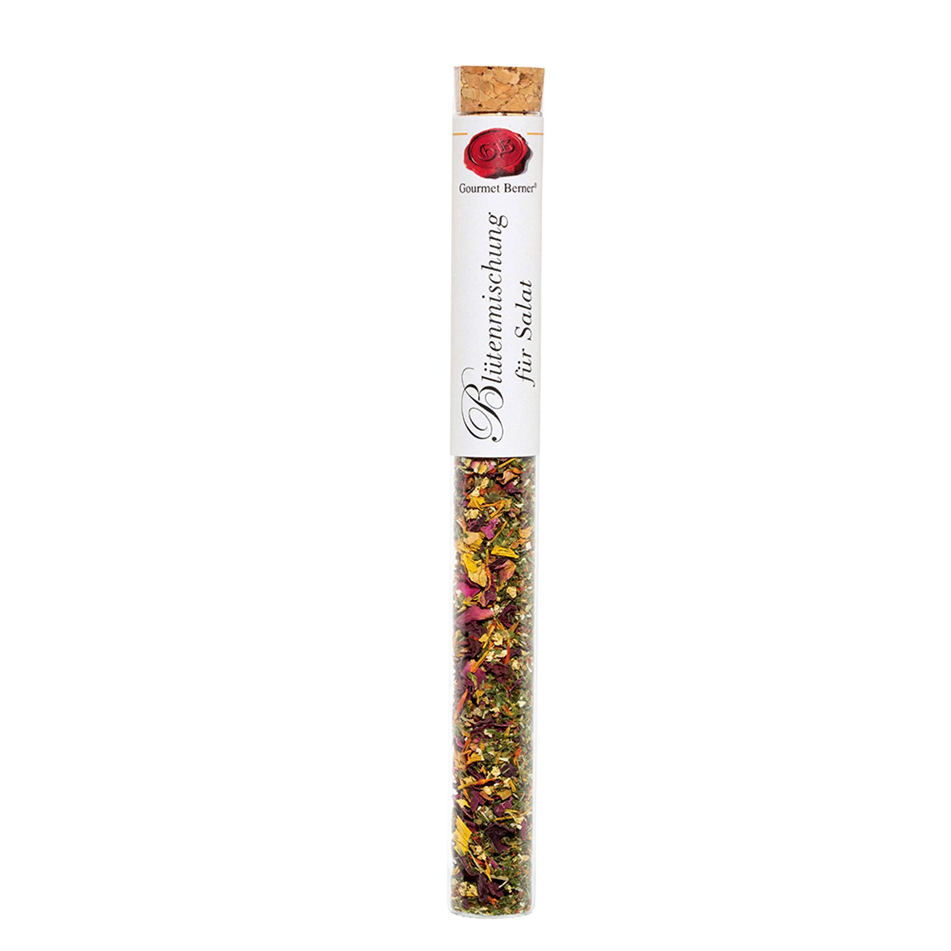 Gourmet Berner - Blütenmischung für Salat, Gewürz in Vitro
