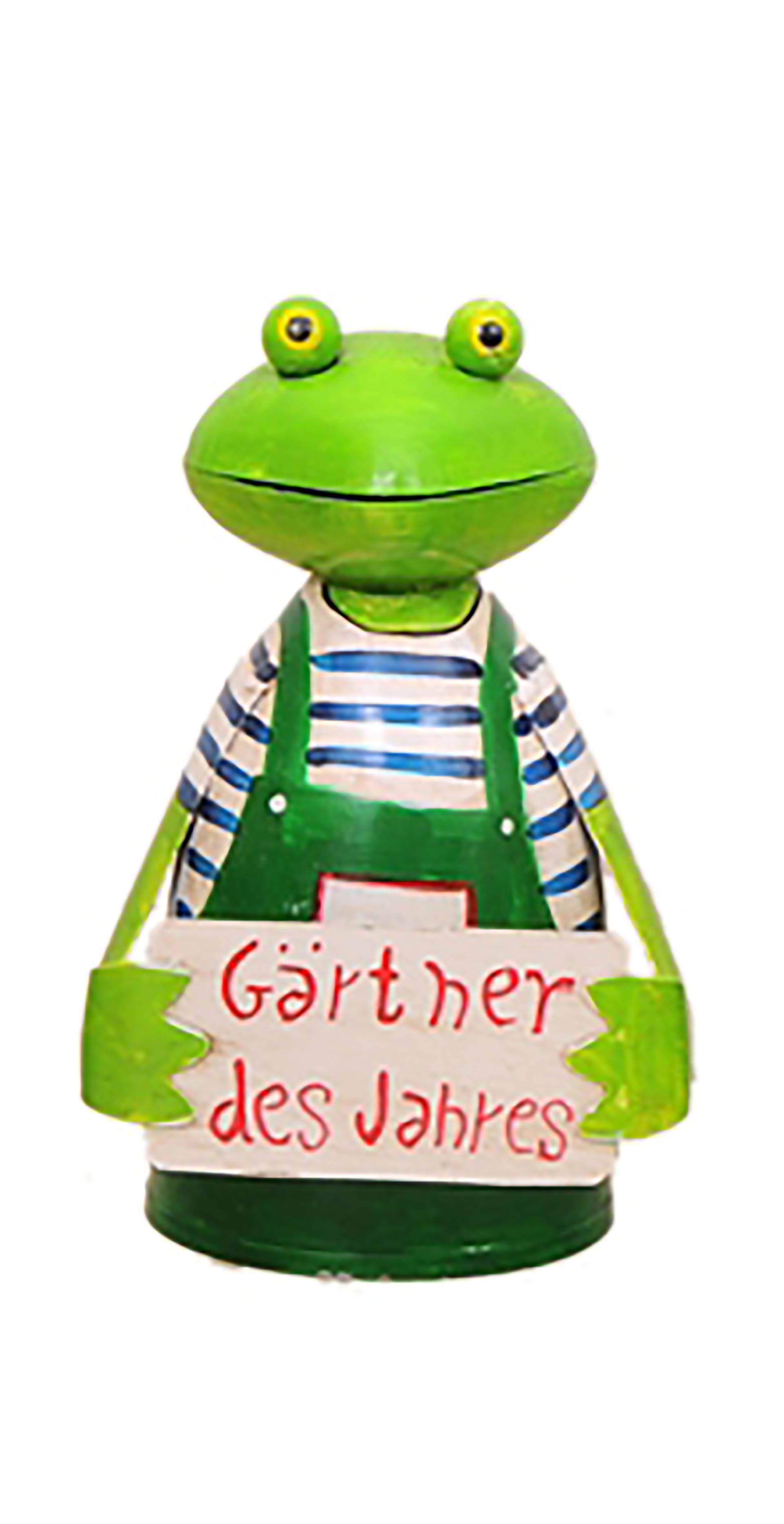 Zaunhocker Frosch, Tafel Gärtner des Jahres