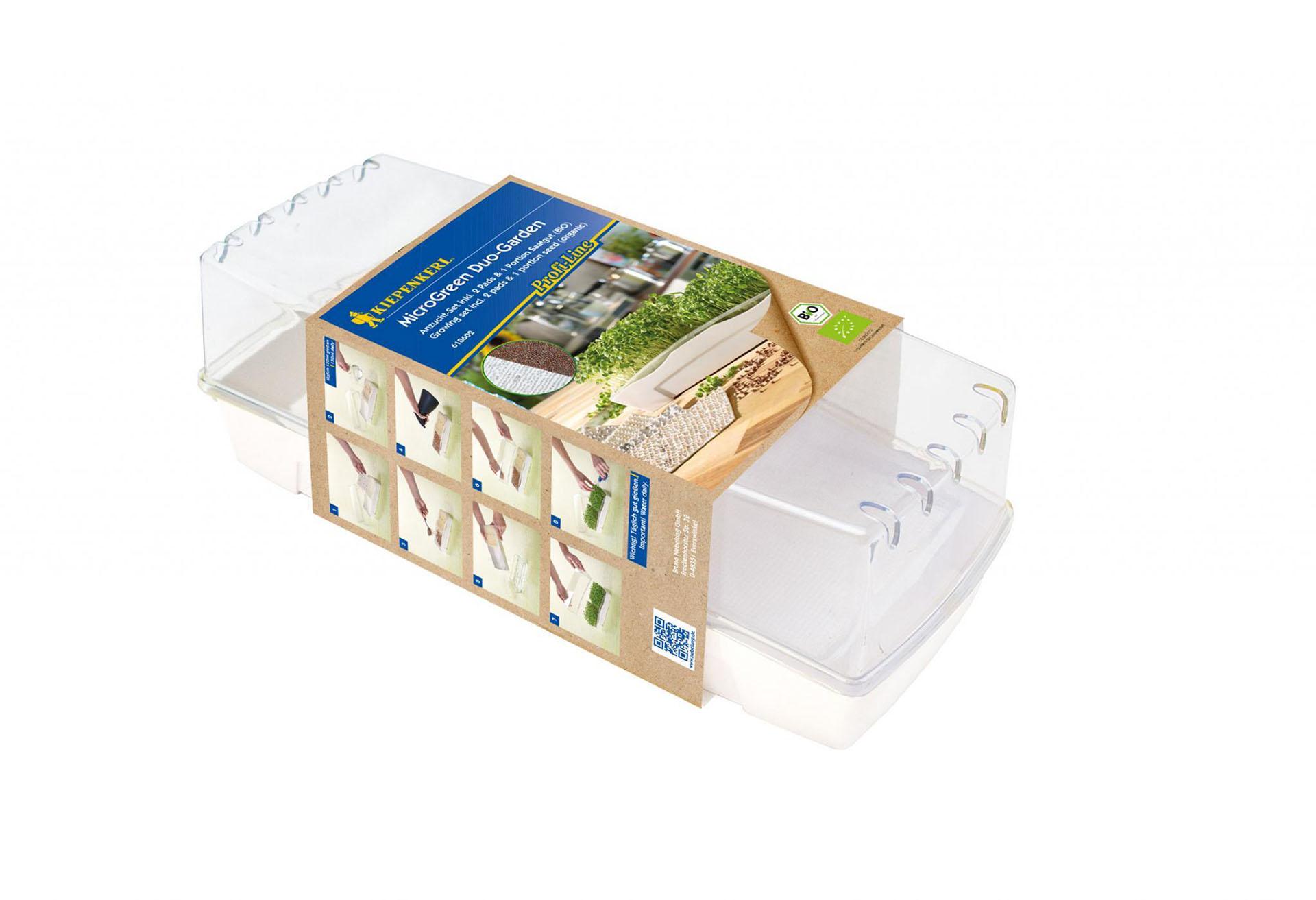 Kiepenkerl BIO-MicroGreen Duo-Garden, Set